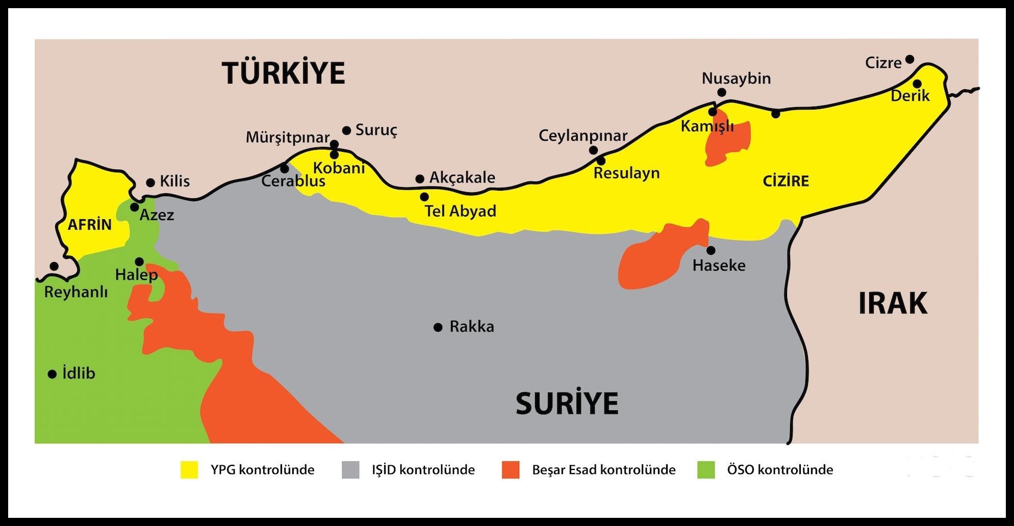 AKP'nin kırmızı çizgisi YPG tarafından aşıldı