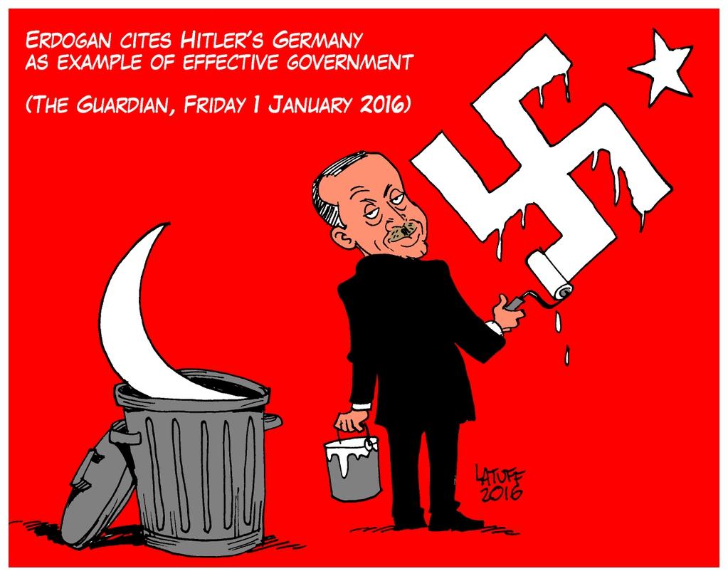 Erdoğan tevil götürmez