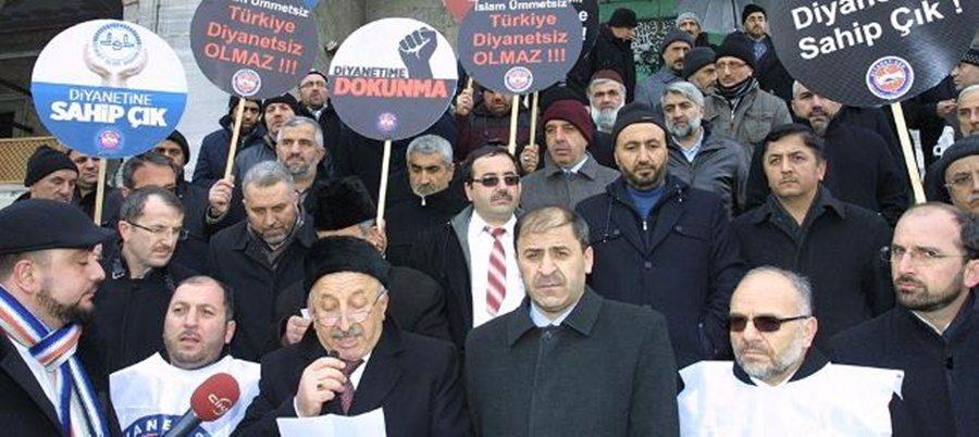 Diyanet'in sapkın fetvalarına destek, Diyanet-Sen: Doğru yoldayız!