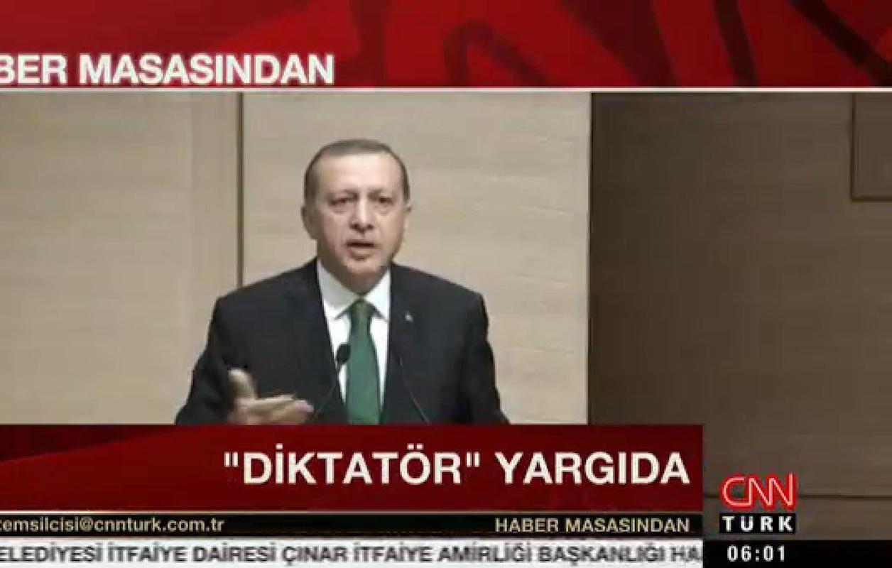CNN Türk'e'Diktatör Yargıda' soruşturması