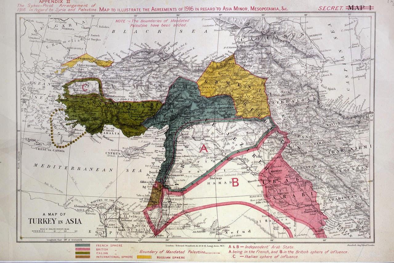 ANALİZ | Önce IŞİD, şimdi Barzani: Emperyalizmin yeni'Sykes-Picot' arayışı