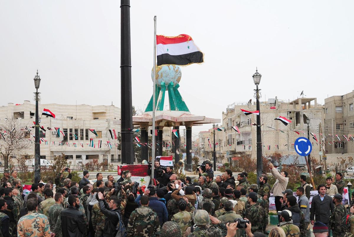 Suriye Arap Ordusu ilerliyor: Selma, Aran, Rabia, Şeyh Miskin...