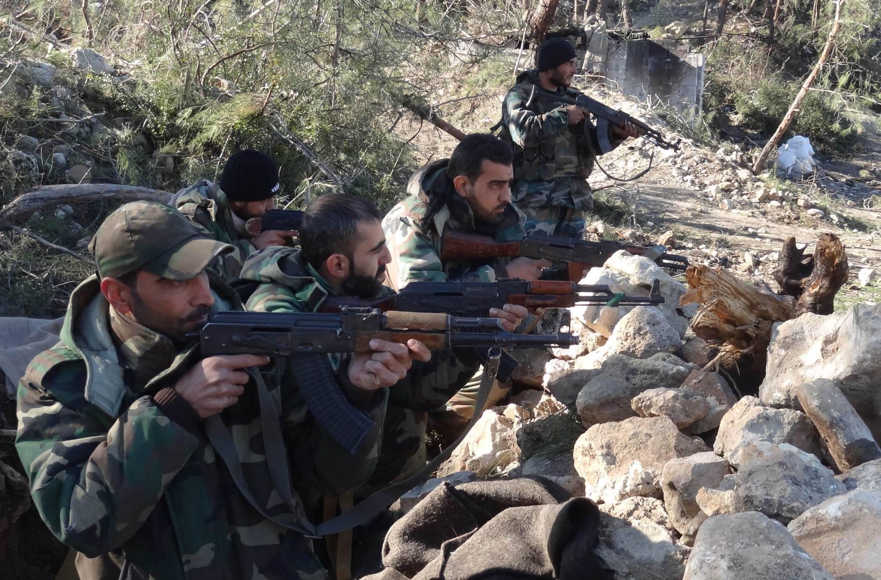 Suriye Ordusu, Lazkiye ve Halep'te ilerliyor