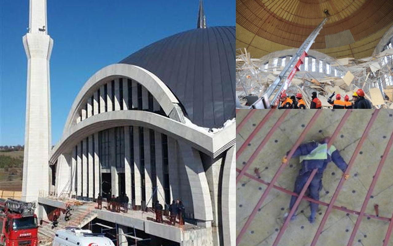 Cami inşaatında 4 buçuk saatlik ölüm kalım mücadelesi