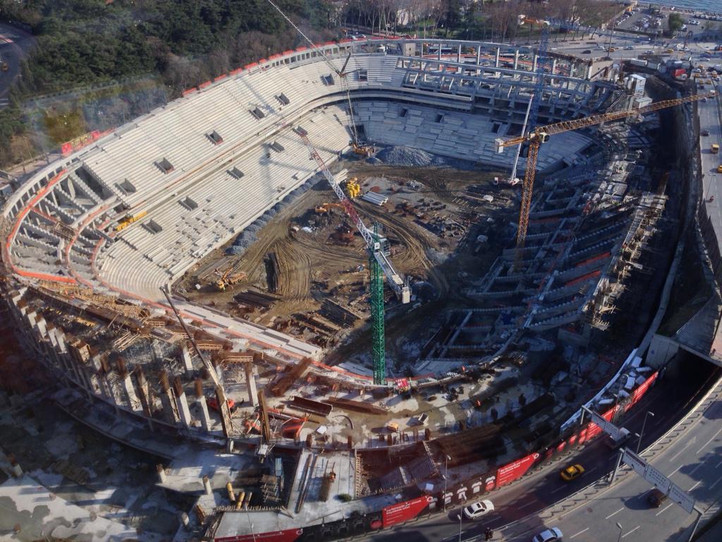 Vodafone Arena'da iş cinayeti: Beşiktaş işçiyi suçladı