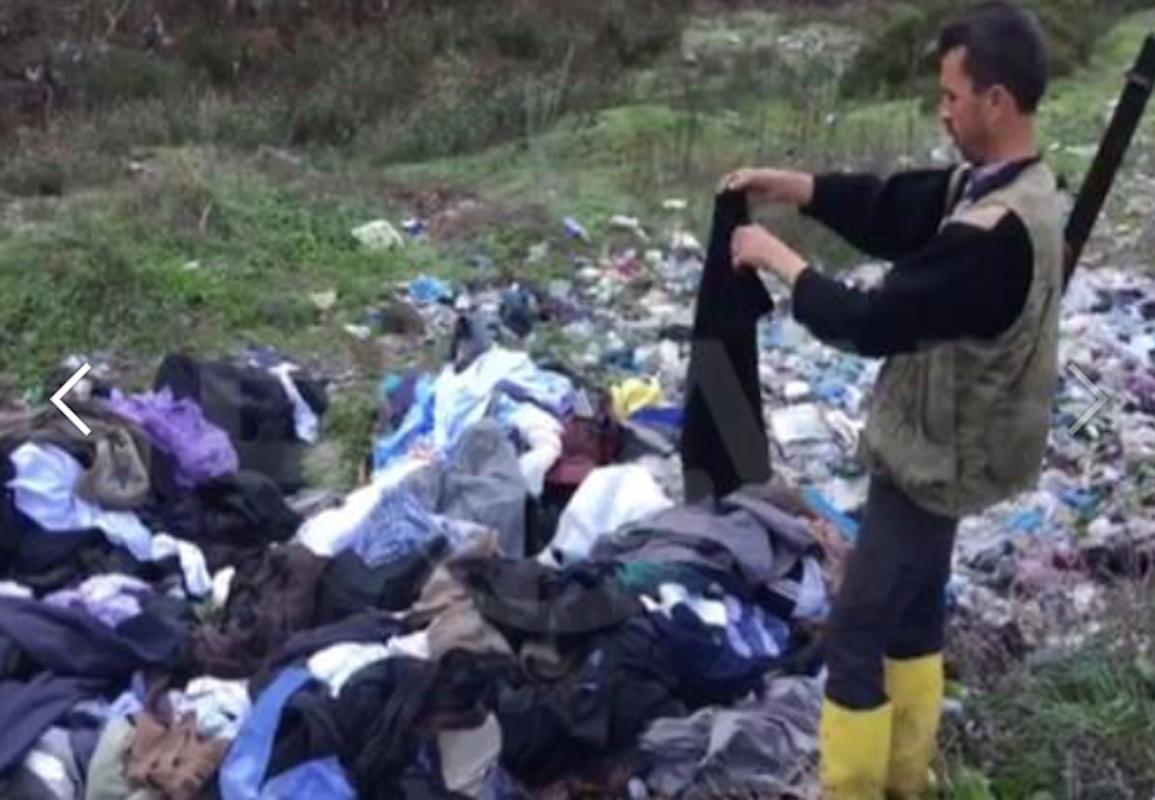 'Türkmenlere yardım' diye toplanan eşyalarla rant pazarları