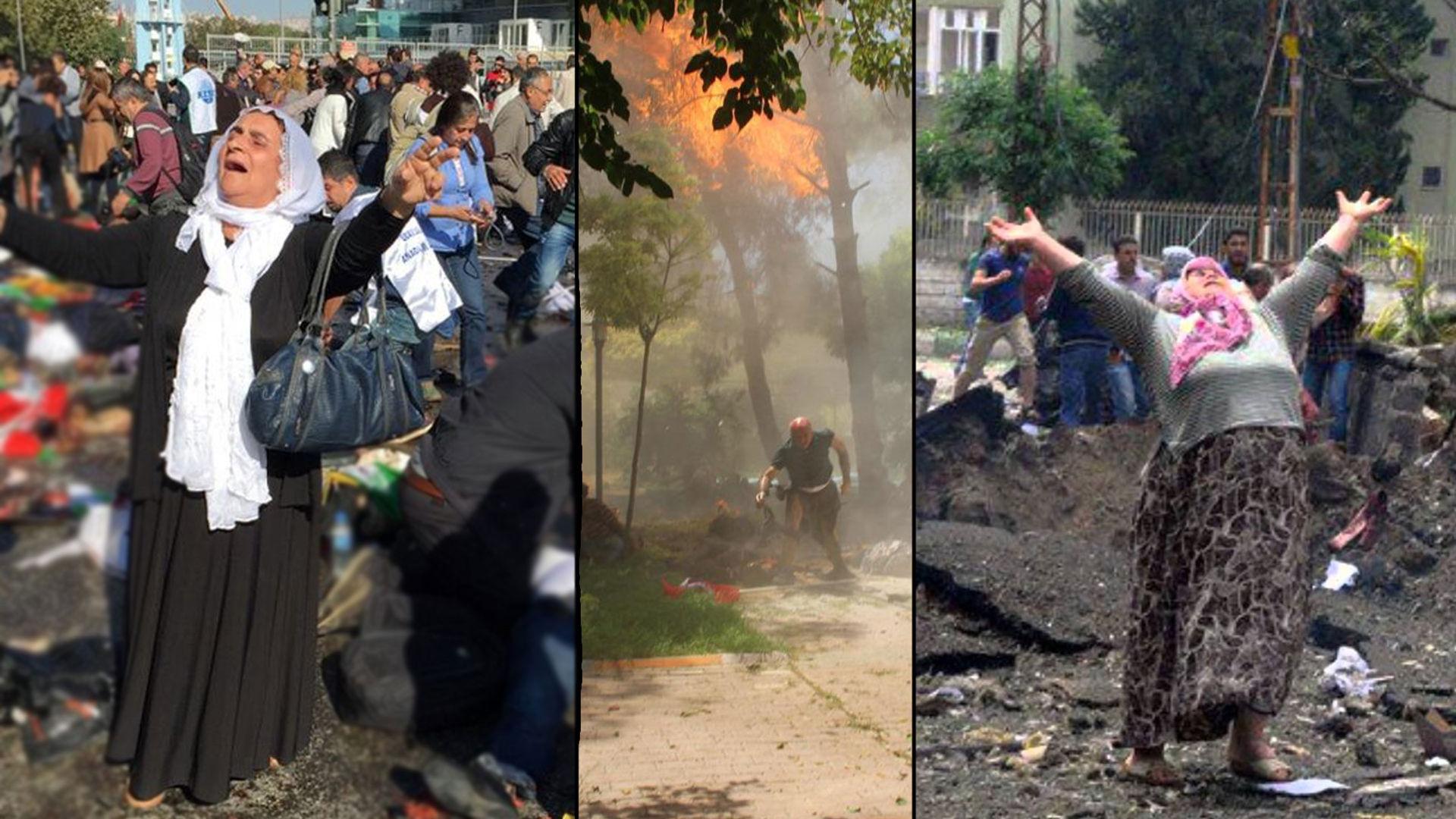 #Ankara'da patlama: Bombalarla şekillendirilen Türkiye