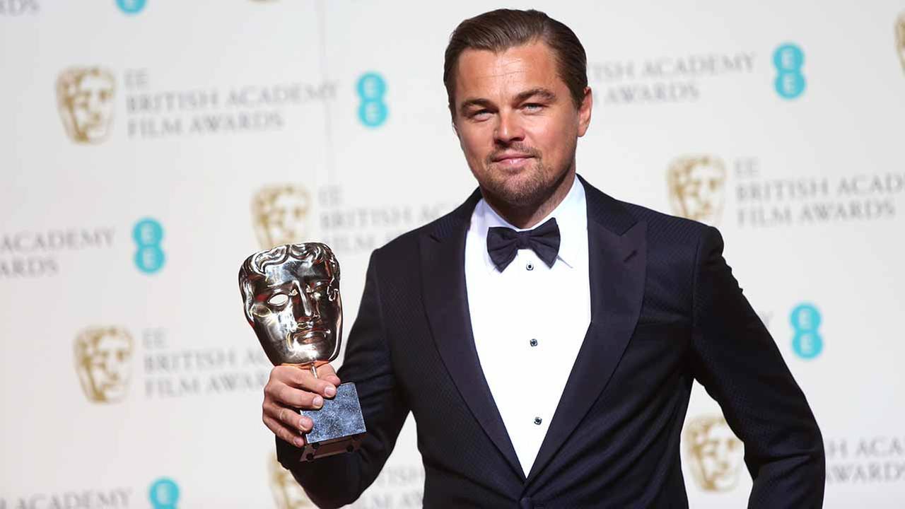 BAFTA ödüllerinde en iyi erkek oyuncu ödülü Leonardo DiCaprio'nun