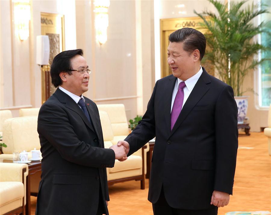 Çin Devlet Başkanı Xi, Vietnam Komünist Partisi ile görüştü