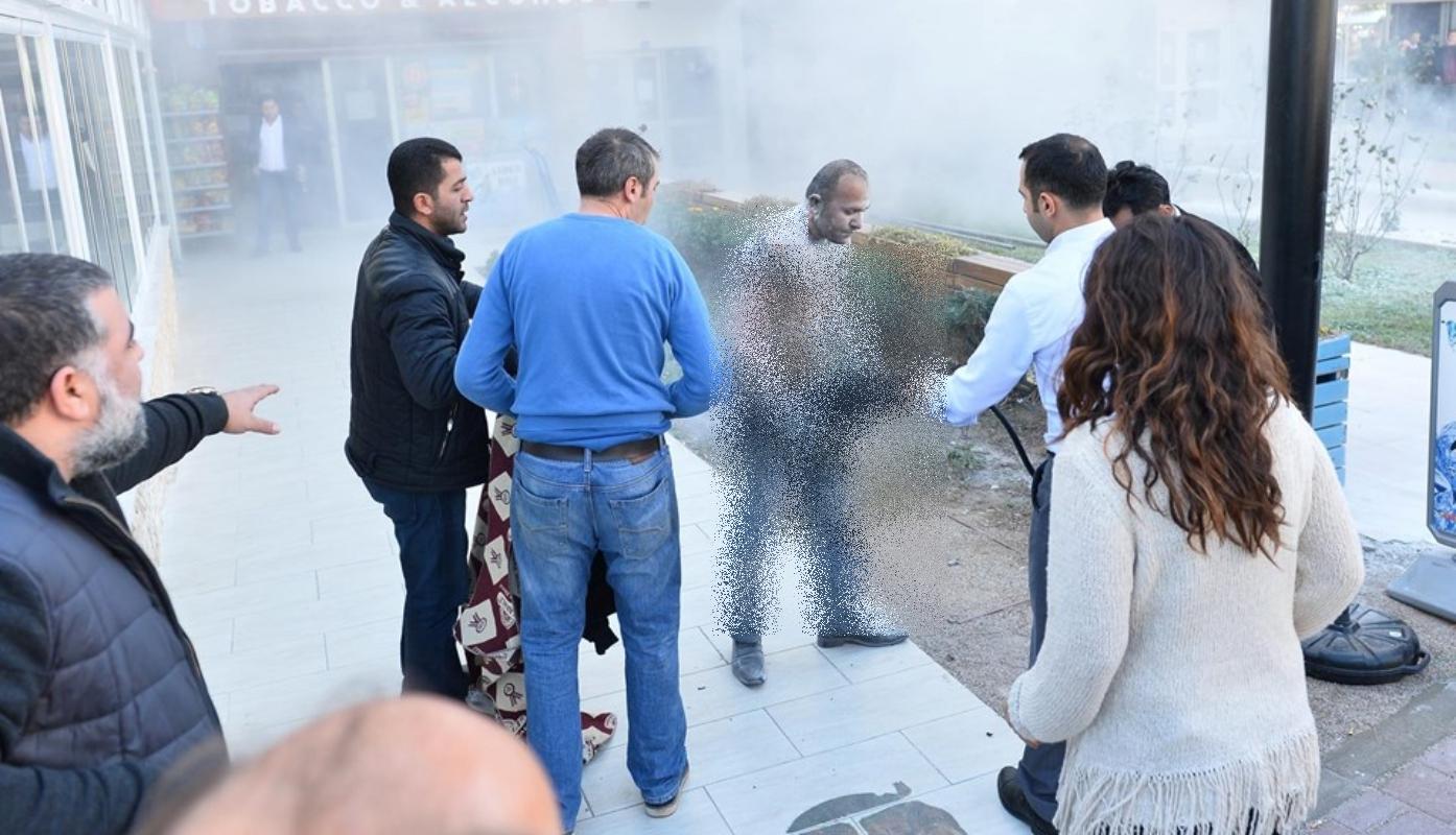 Antalya'da kendini yakan işçi hayatını kaybetti