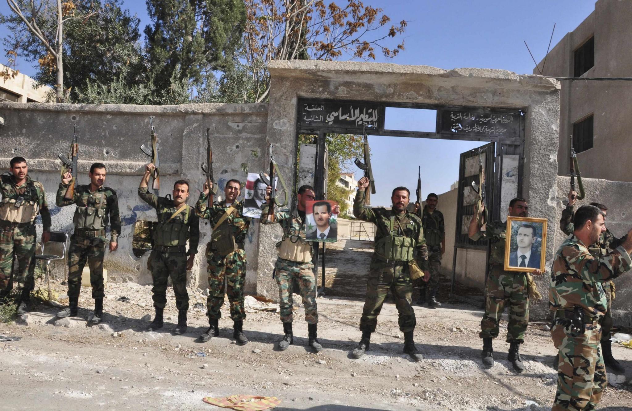 Suriye ordusu cihatçıların Türkiye'den ikmal yolunu tamamen kesti