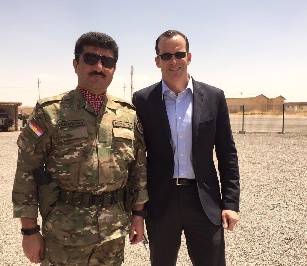 Sömürge valileri Irak ve Rojava'da
