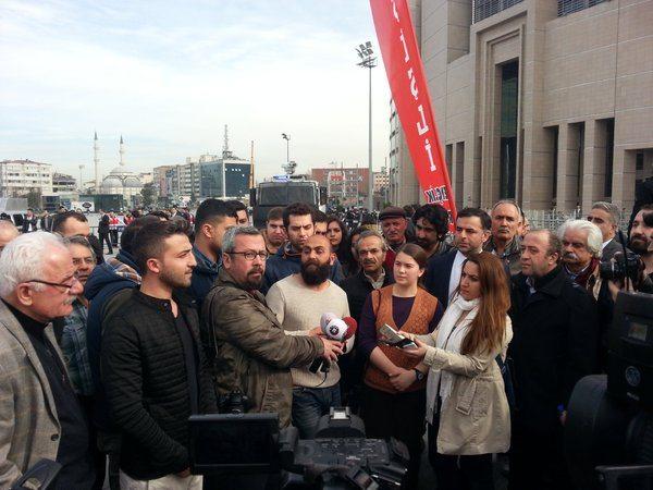 Dilek Doğan'ın davası polis saldırısıyla başladı