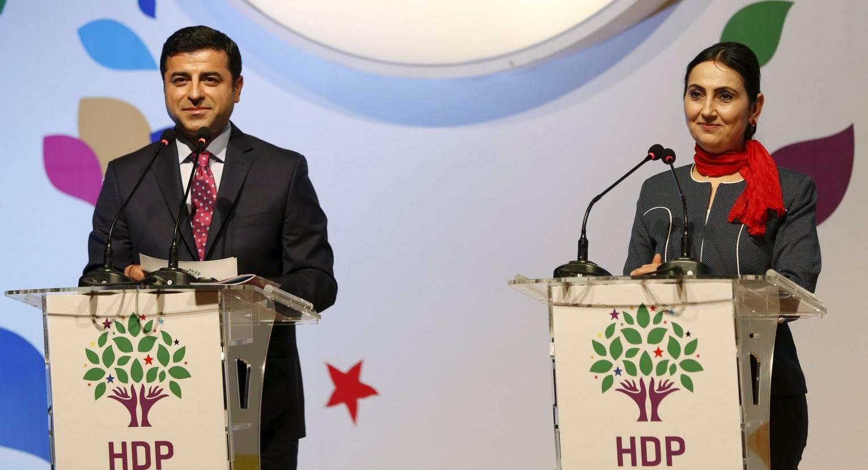 HDP Eş Genel Başkanları Demirtaş ve Yüksekdağ'a 'silahlı terör örgütü üyeliği'nden fezleke