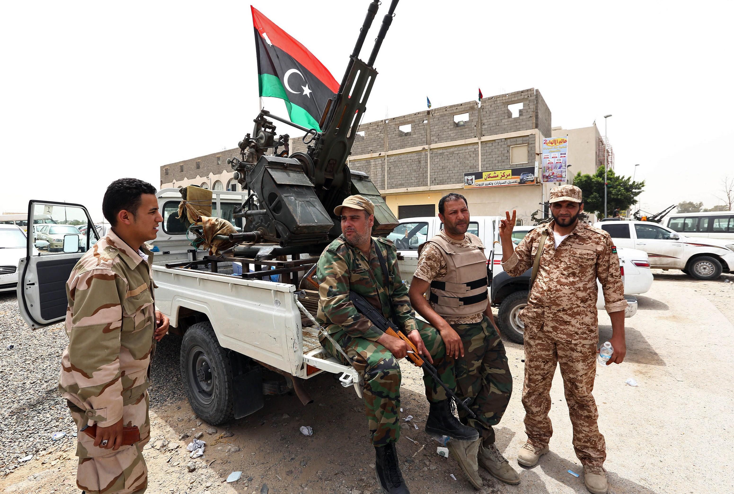 Libya'da sürpriz görüşme