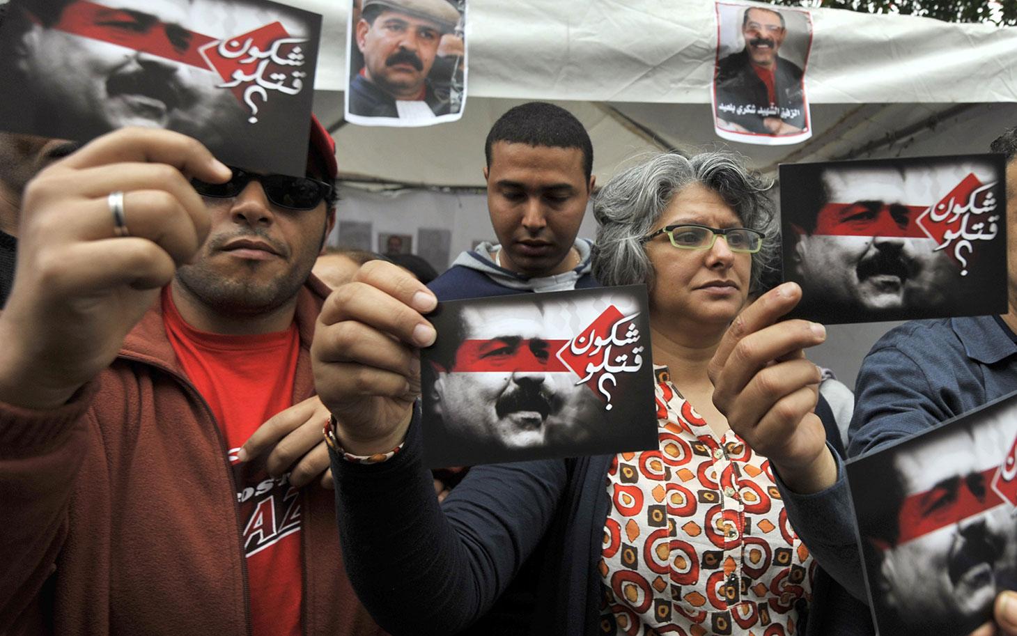 Tunus: Belaid'i kim öldürdü?