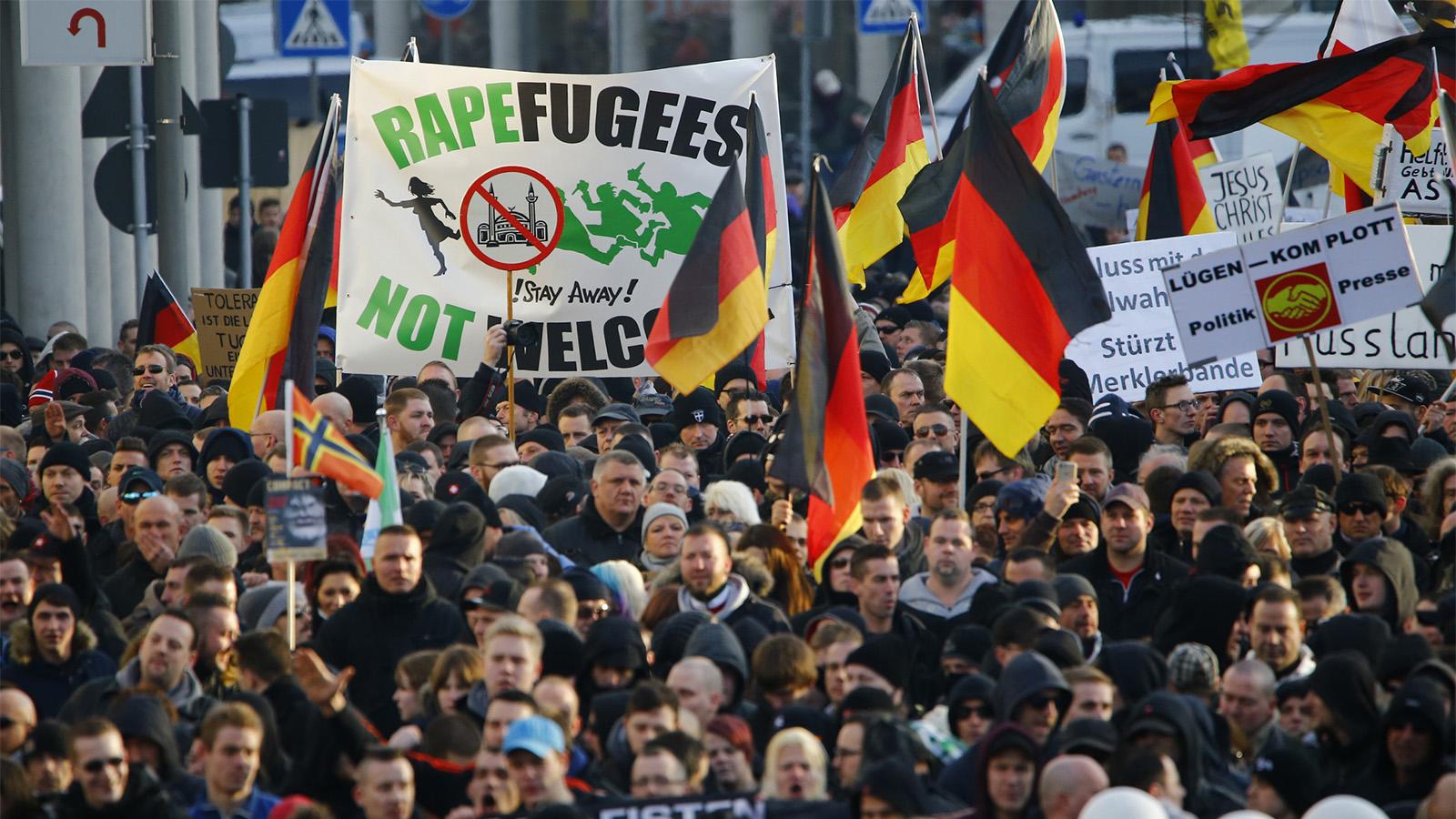 PEGİDA: Avrupa'da bir hortlak dolaşıyor