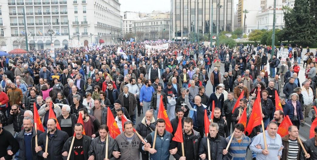 Yunanistan Komünist Partisi genel grevi değerlendirdi