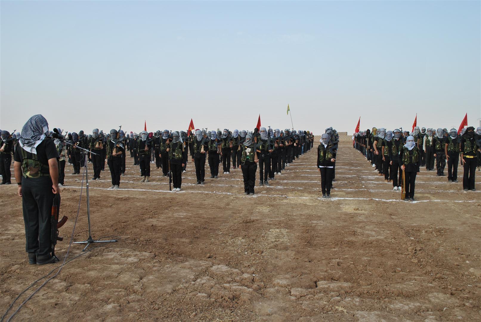 Times: YPG, Minnağ hava üssünün adını'Serok Apo' yaptı