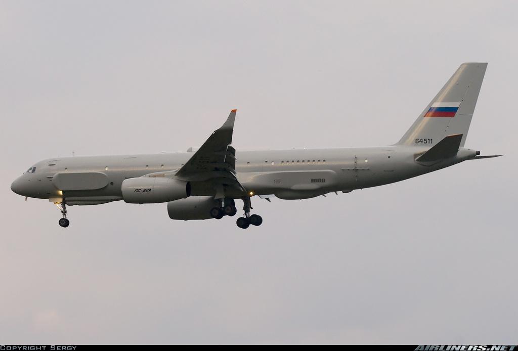 Rusya'nın casus uçağı Suriye'ye gönderildi