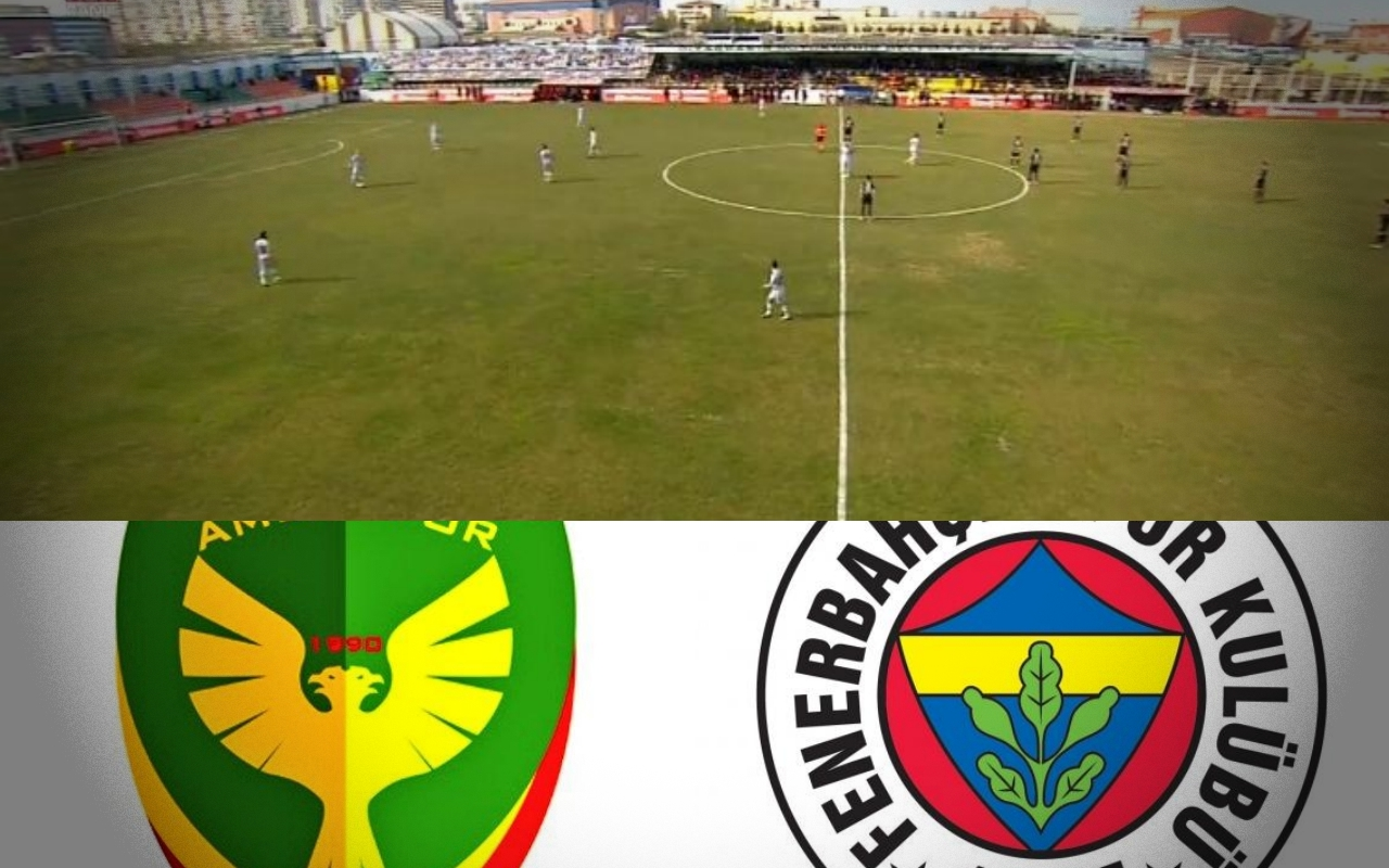 Amedsporlu futbolculardan Fenerbahçe maçında protesto