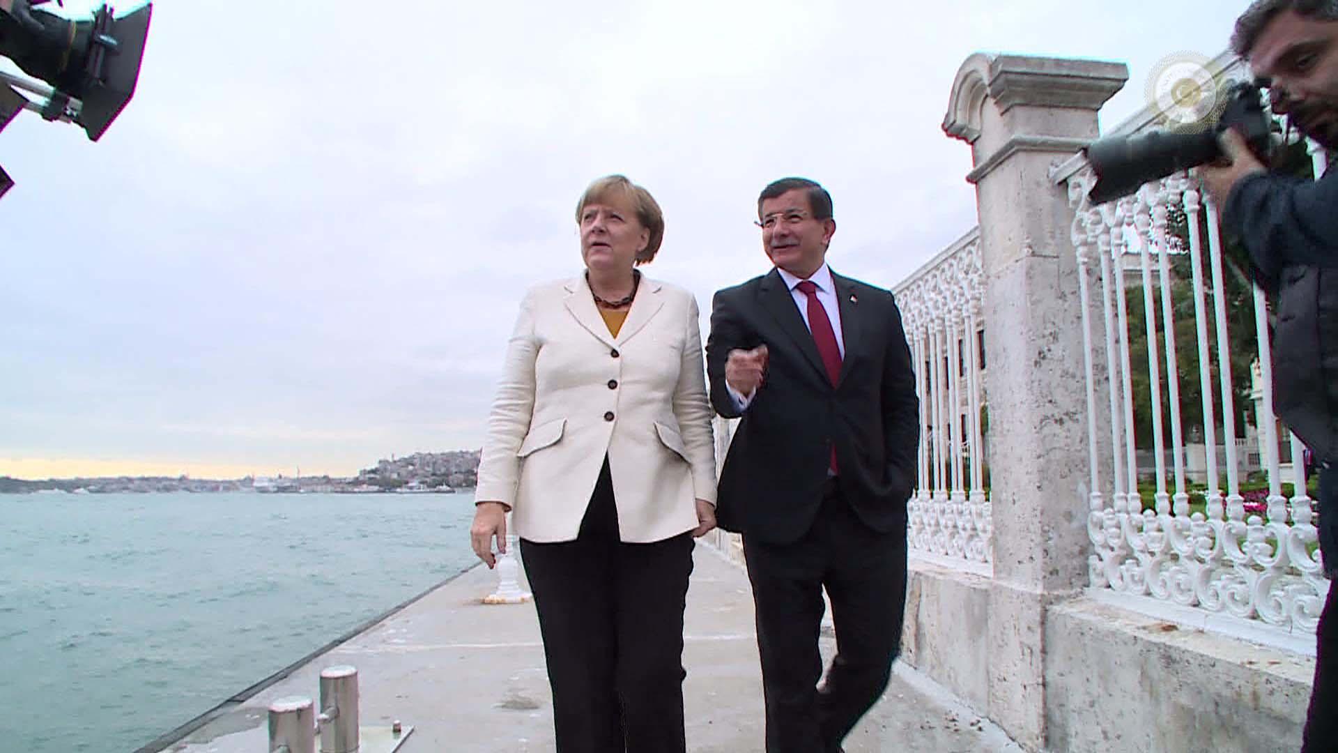 Merkel bugün geliyor