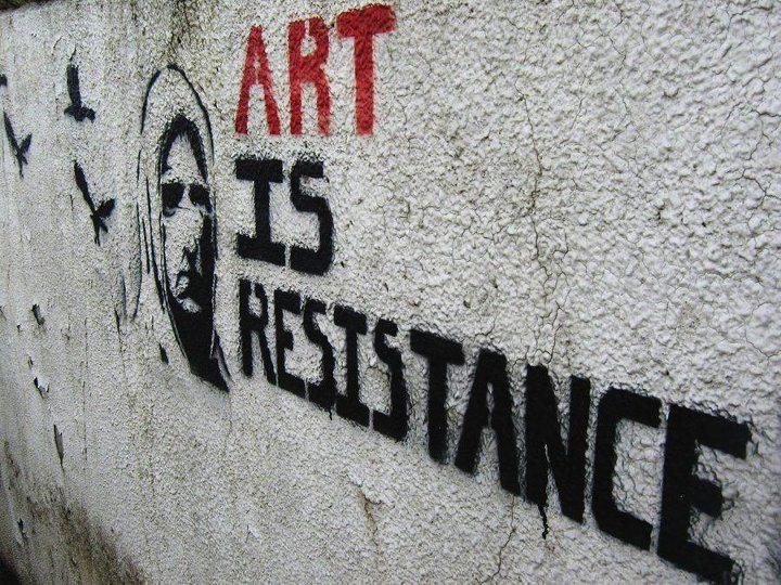 Iraz Yöntem yazdı: Umudun kalkanı sanattır