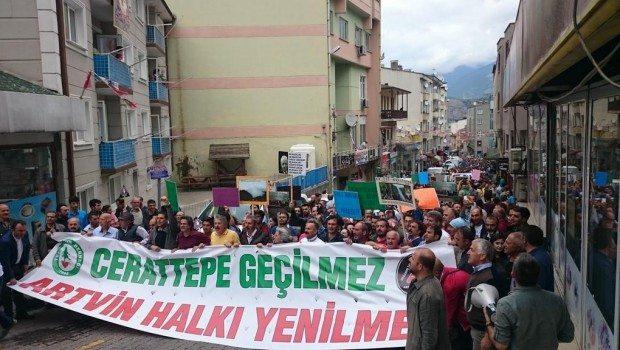 Vali Cengiz Holding'i kollamaya devam ediyor: Artvin'de eylem yasağı 2. kez uzatıldı