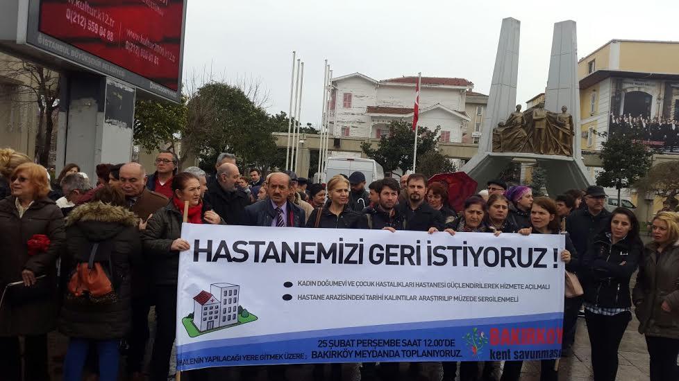 Bakırköy'de hastane arazisi ihaleye çıkıyor