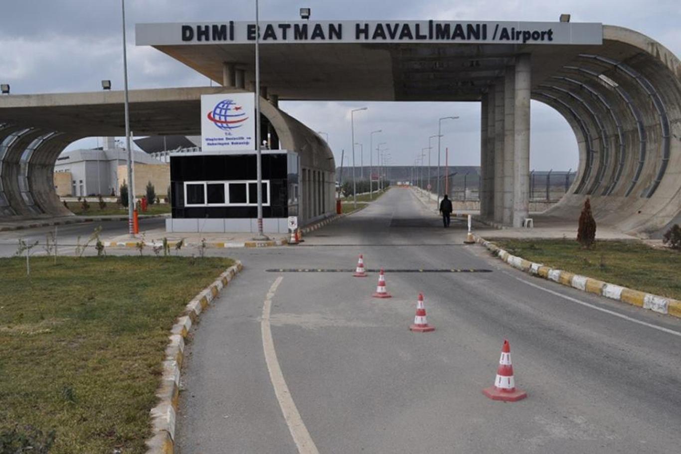 Batman Havalimanı'na havan topu saldırısı iddiası