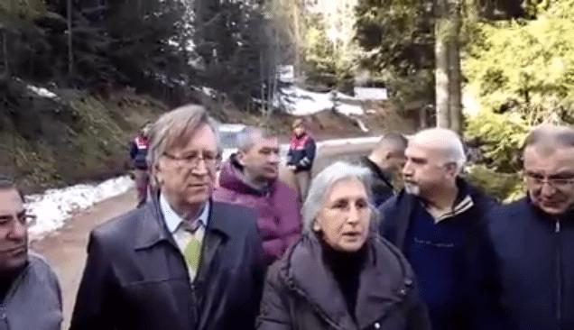 VİDEO | Cerattepe'ye çıkan heyet dönüşte açıklama yaptı: Yargı kararlarından emin görünüyorlar