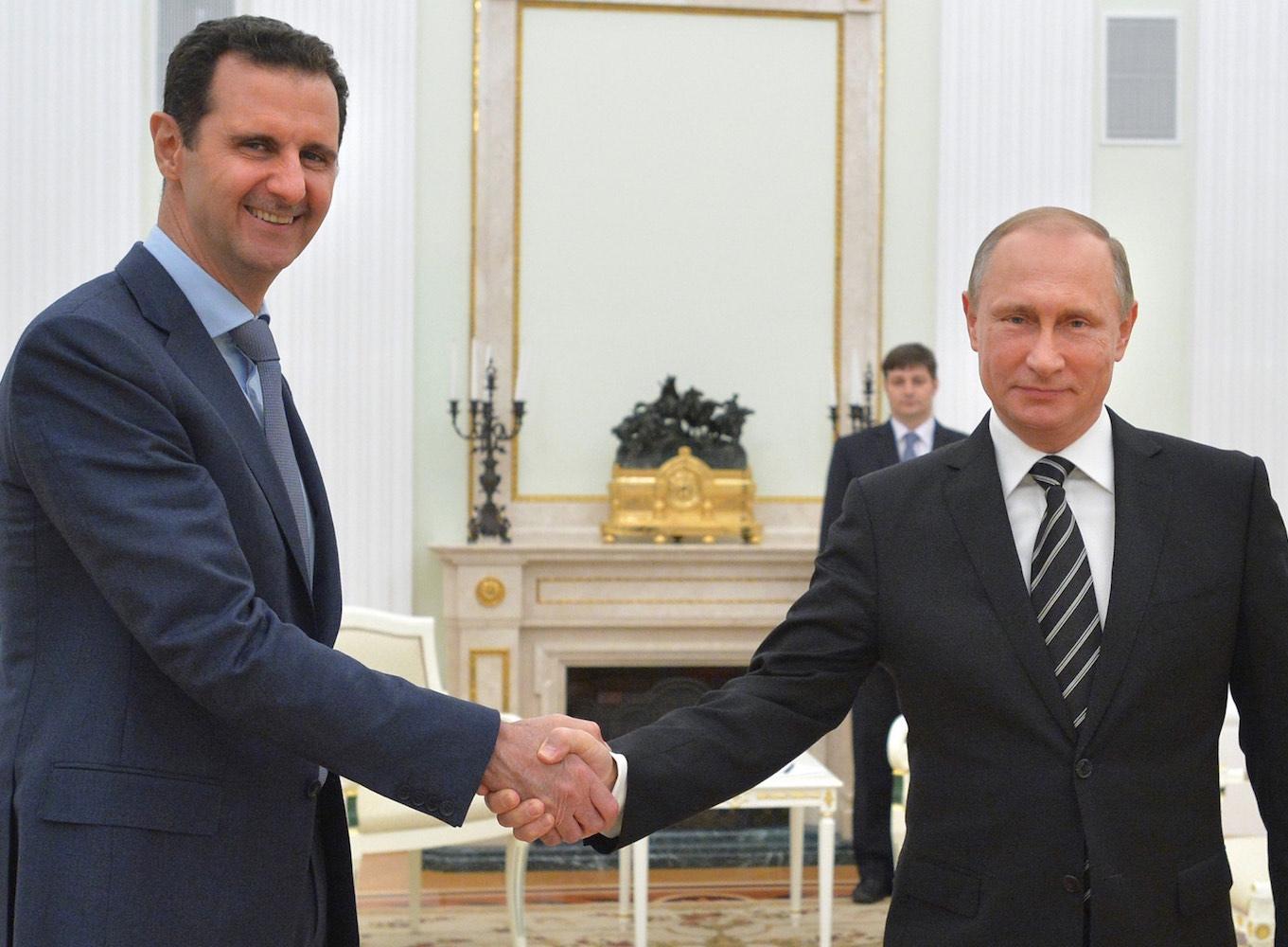 Rusya lideri Putin, Esad ile görüştü