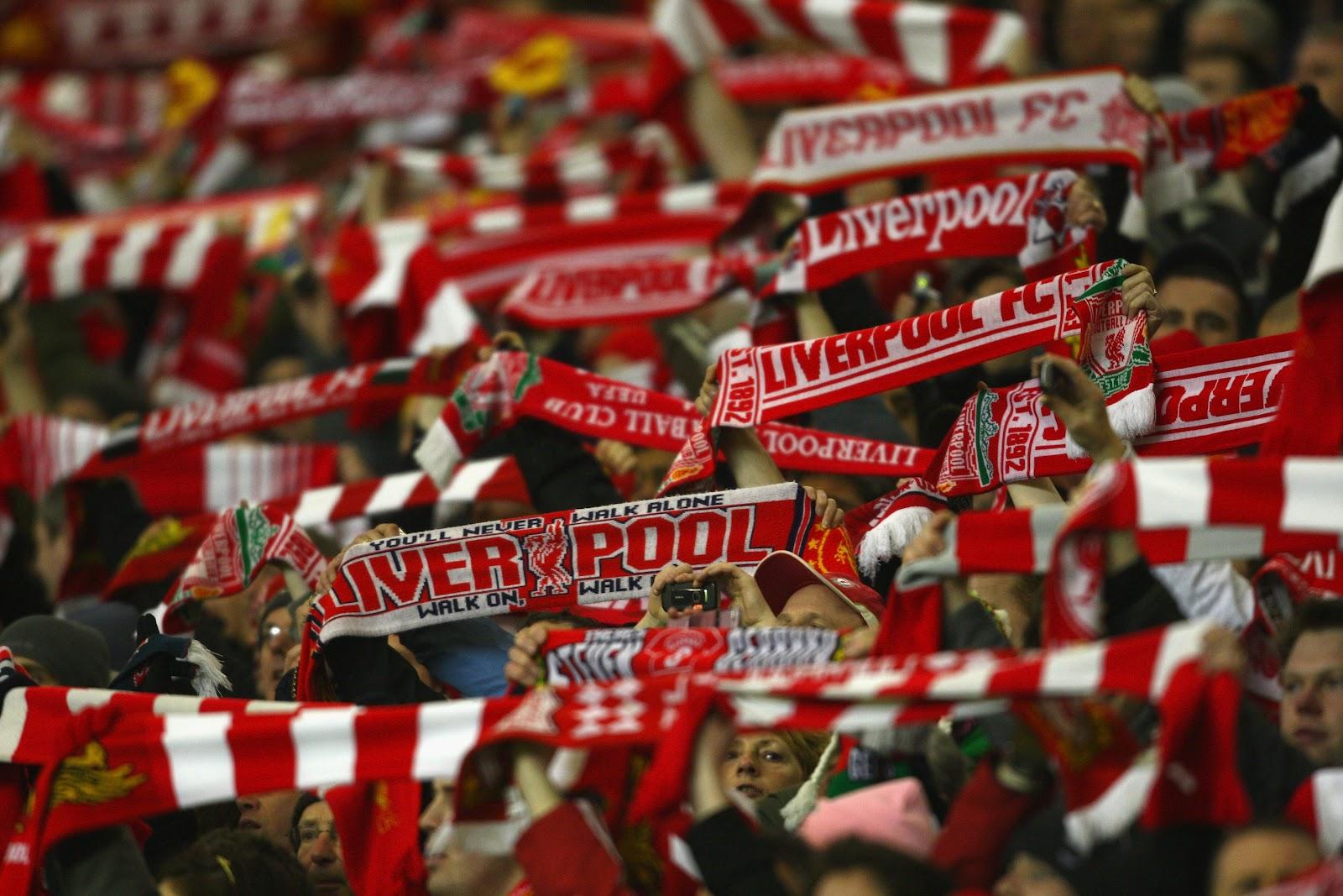 Mücadeleyi Liverpool taraftarı kazandı