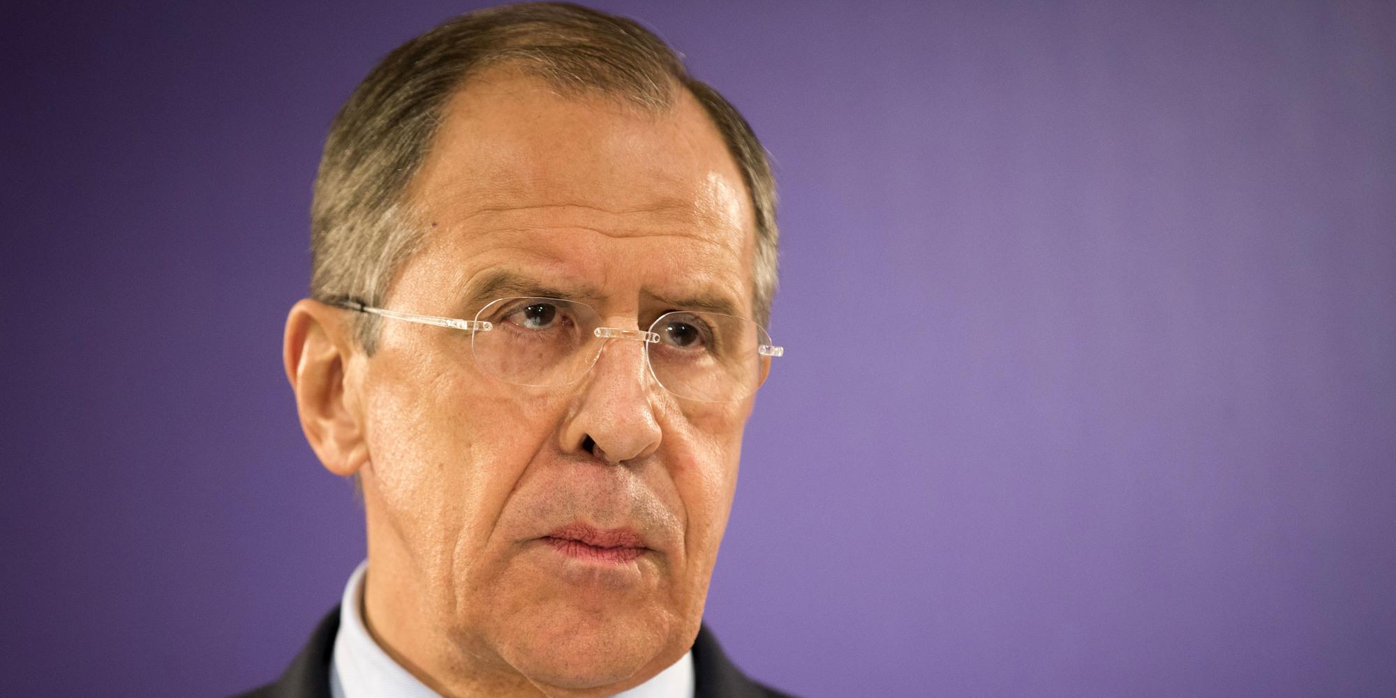 Lavrov: Teröristler varken Esad'ı şeytanlaştırmanın anlamı yok
