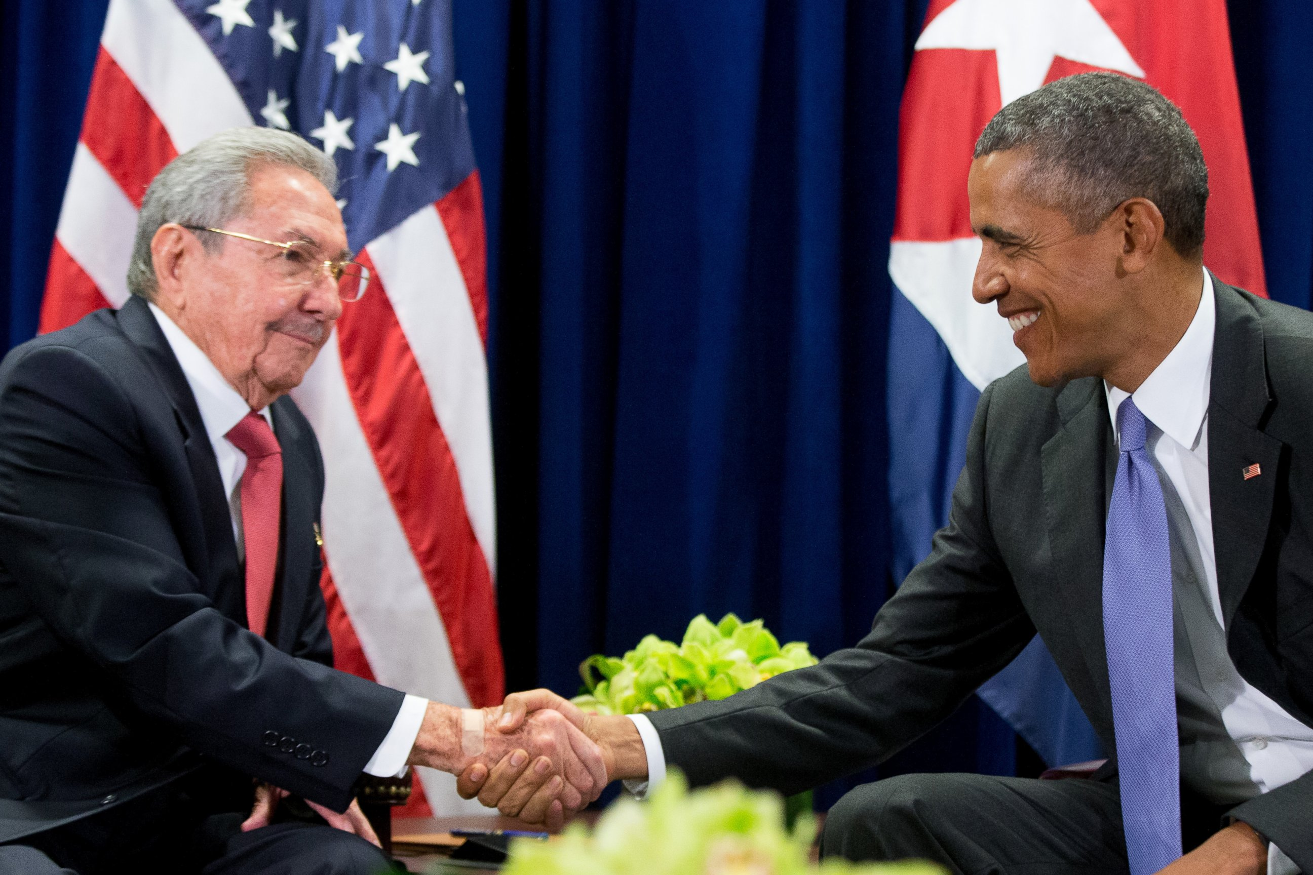 Barack Obama Küba yolcusu