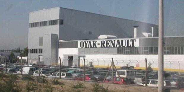 Bursa'daki Oyak Renault fabrikasında üretim yapılamıyor