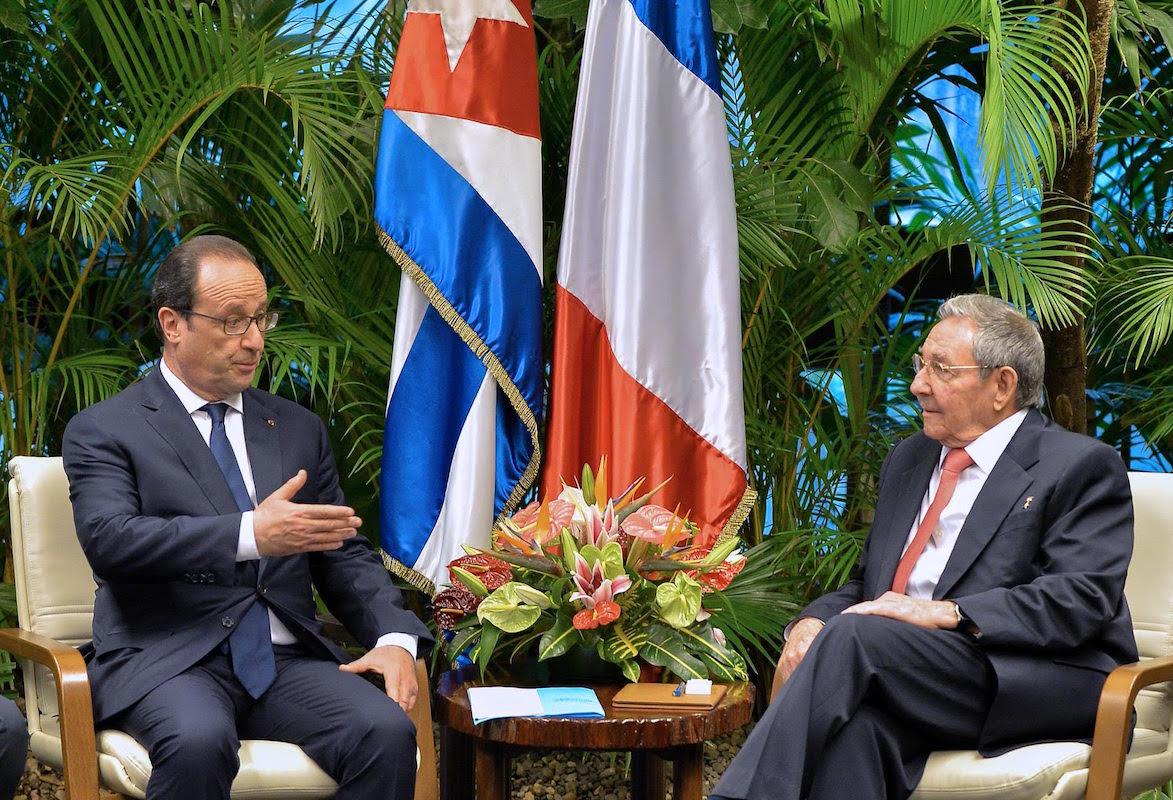Raul Castro Fransa'da