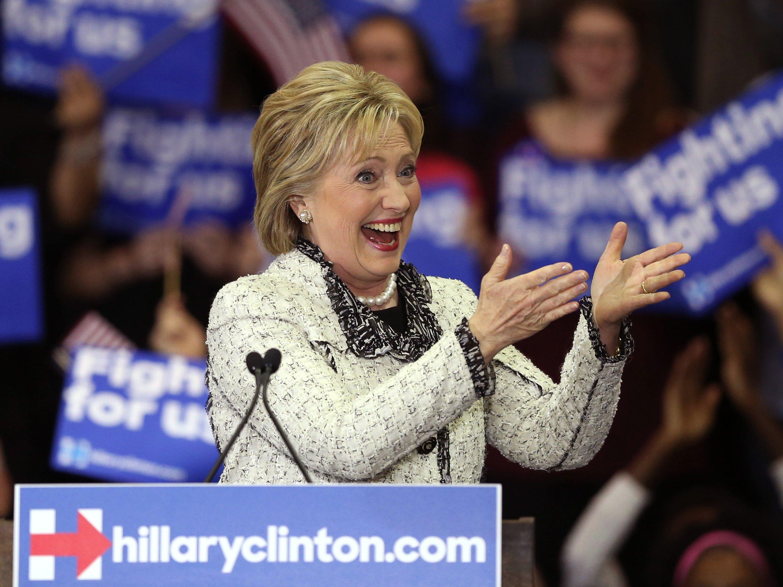 Hillary Clinton Güney Karolina'da kazandı