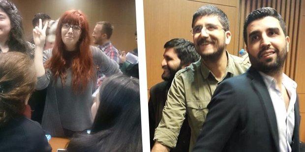 ÖHD üyesi 9 avukatın da aralarında olduğu 31 kişi serbest