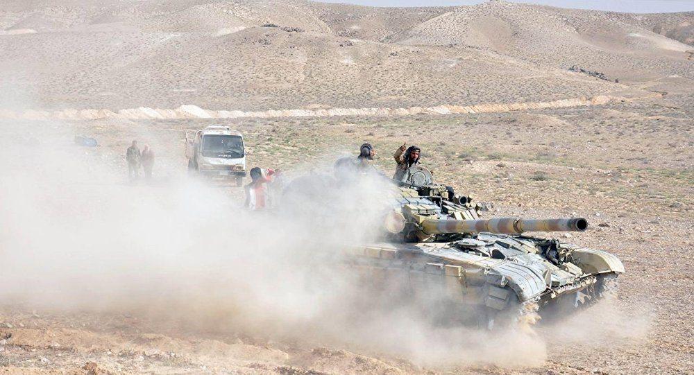Palmira'da IŞİD'e son darbe vuruluyor