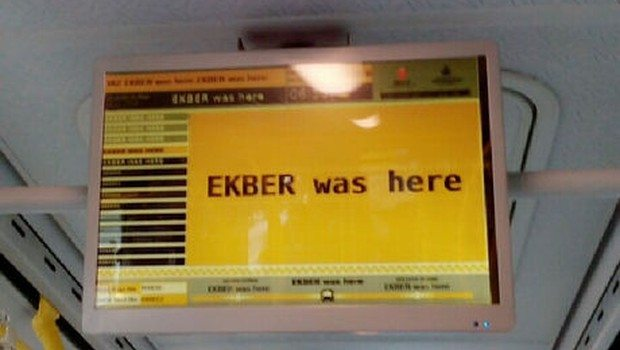 İETT sitesi ve metrobüs ekranları hacklendi