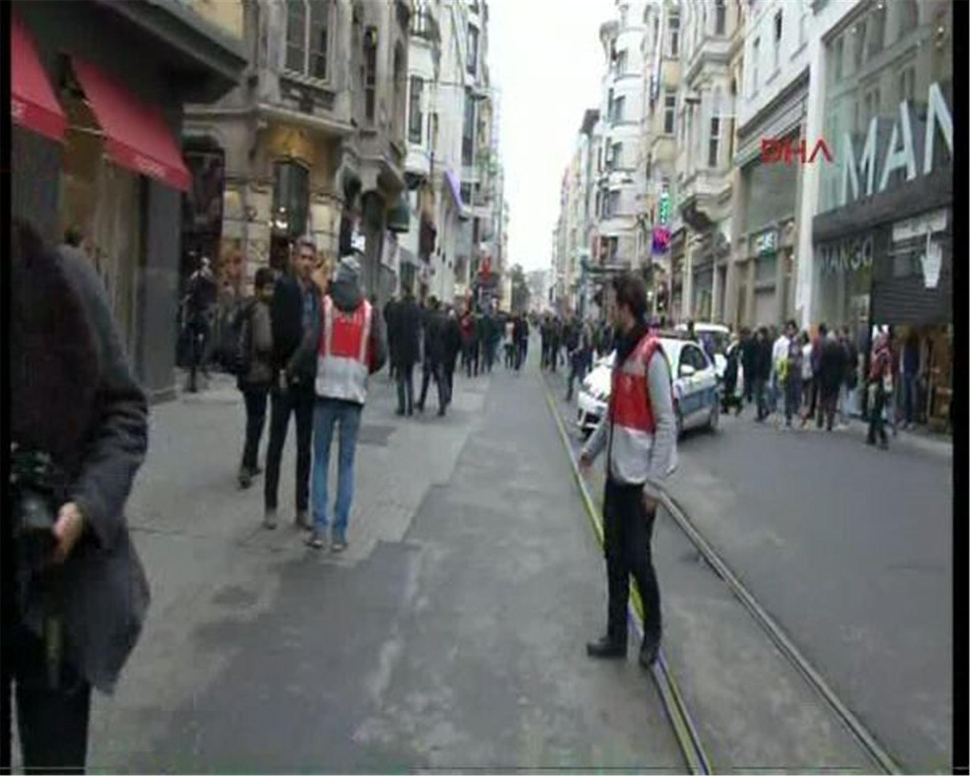 #Taksim İstiklal Caddesi'ndeki intihar saldırısı dünya basınında