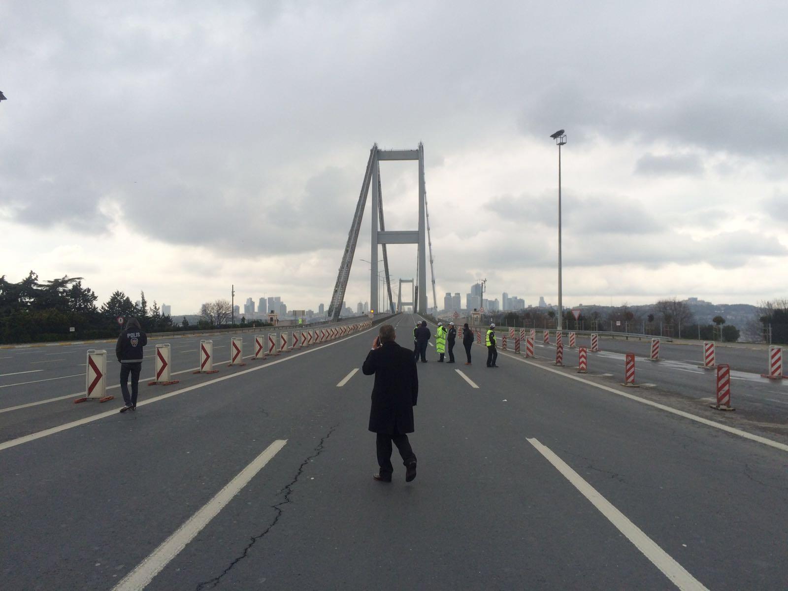 Boğaziçi Köprüsü'nde bomba paniği