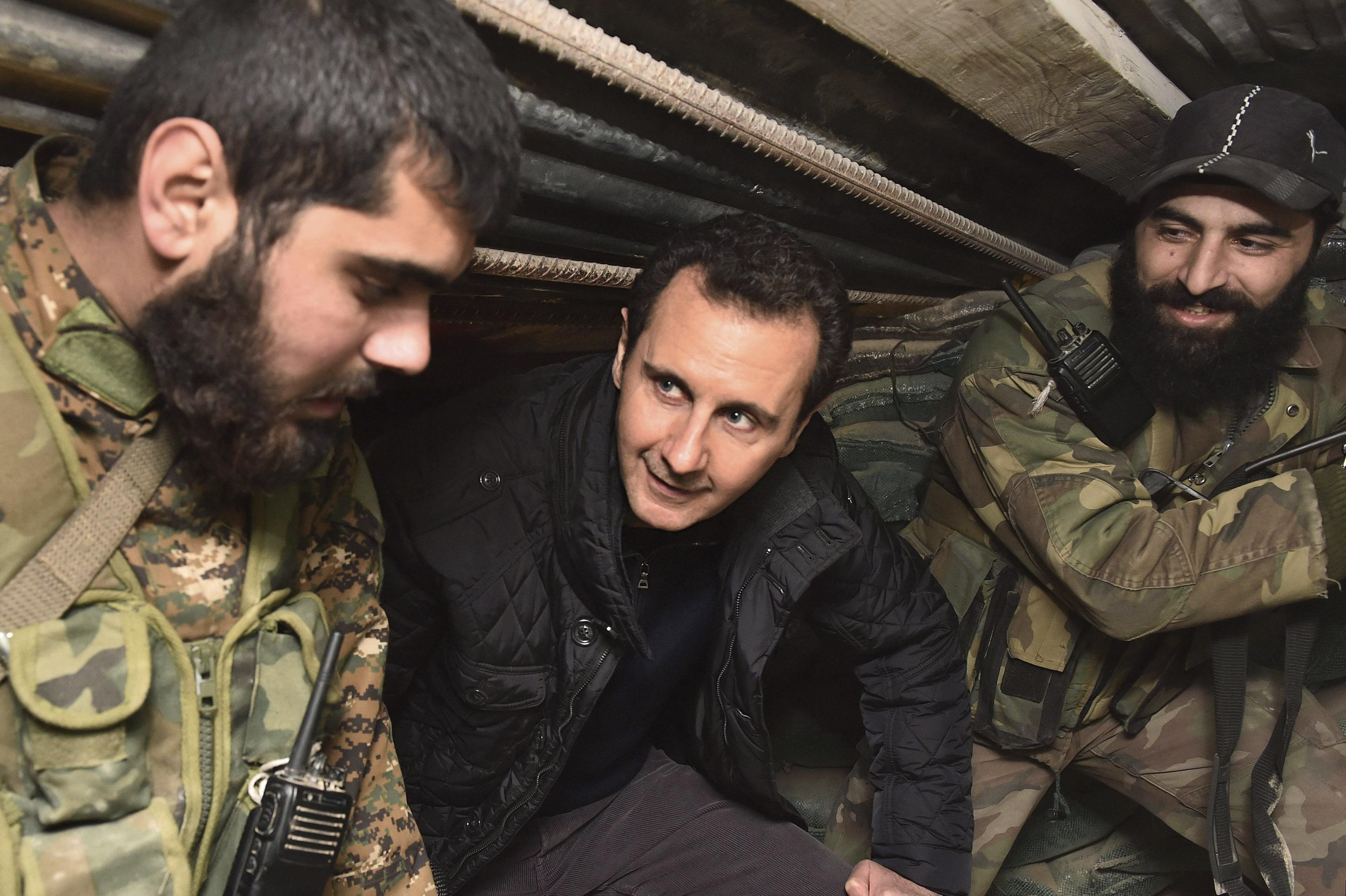 Esad: Çözüm, bütün terörist gruplara karşı kazanılacak zaferdir