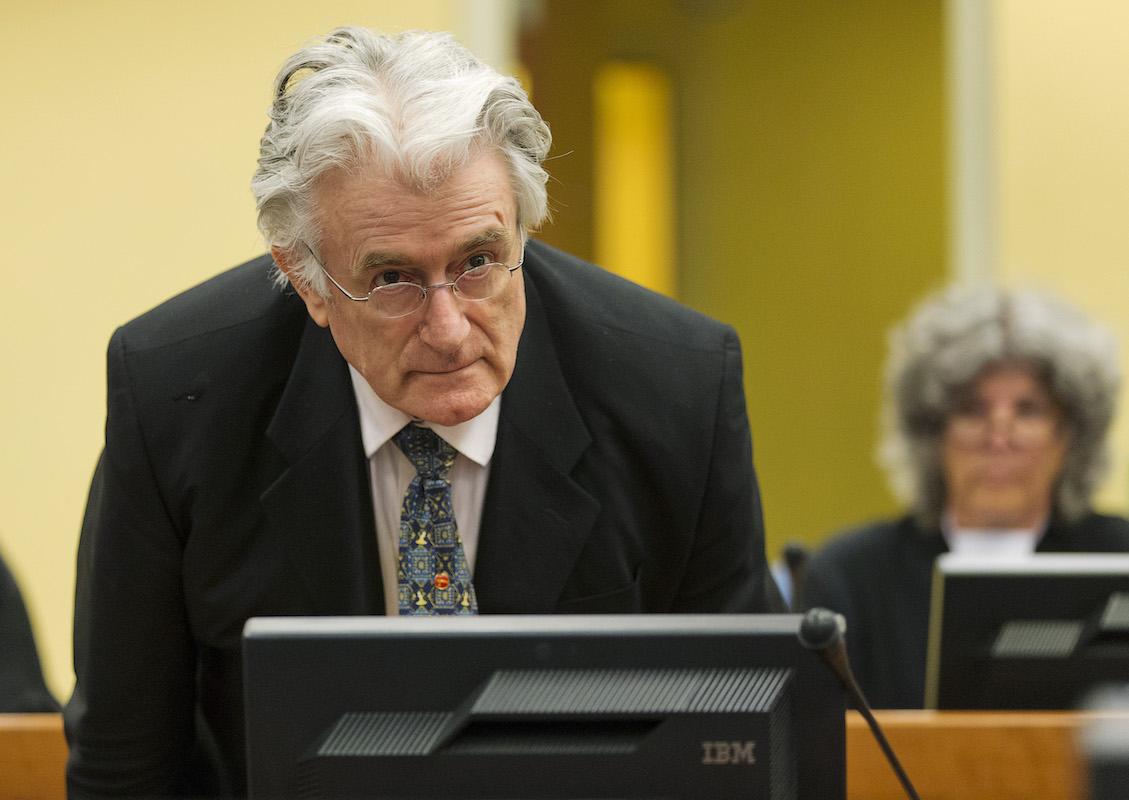 Karadziç Srebrenitsa'da suçlu bulundu
