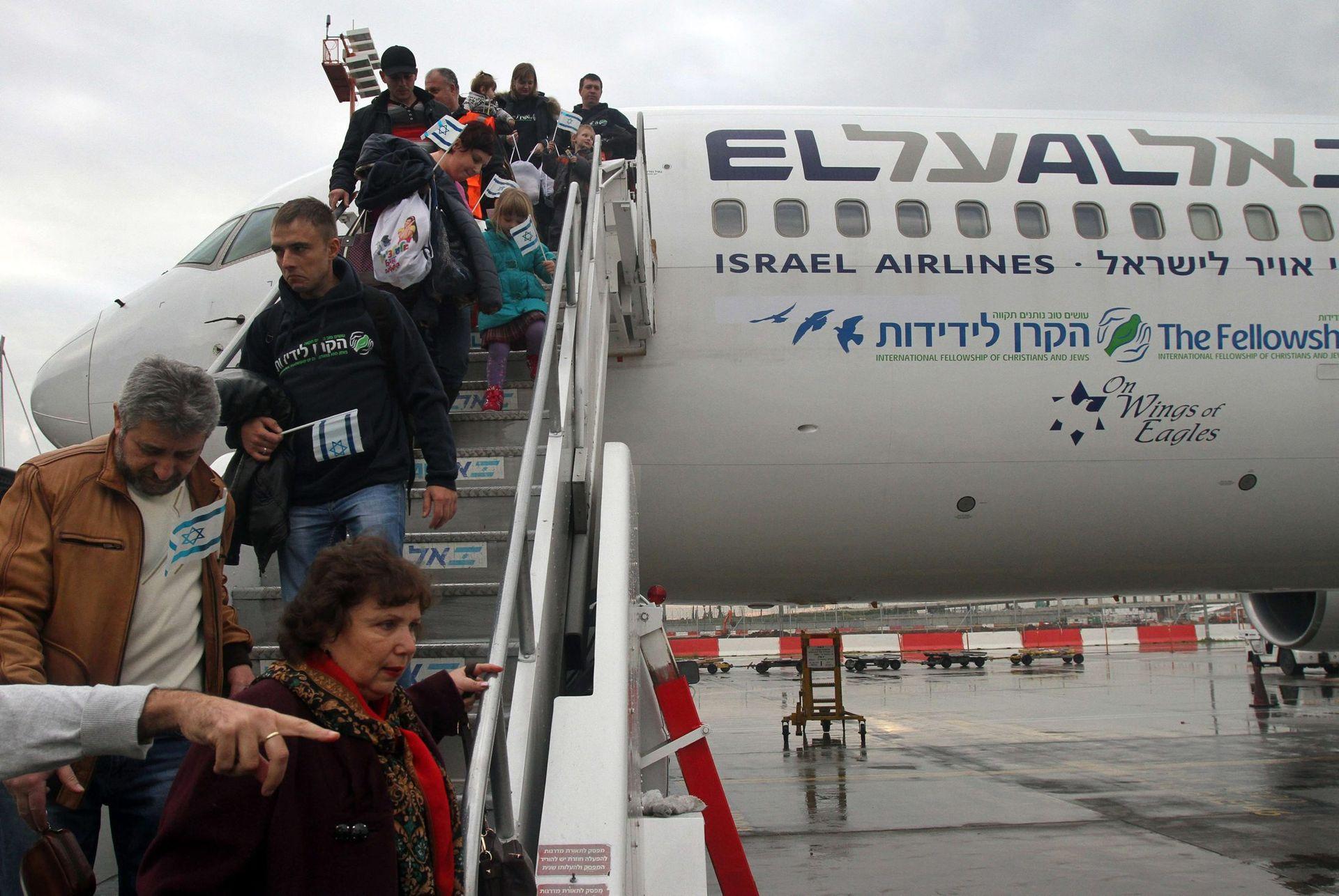 Yahudiler Ukrayna'yı terk ediyor