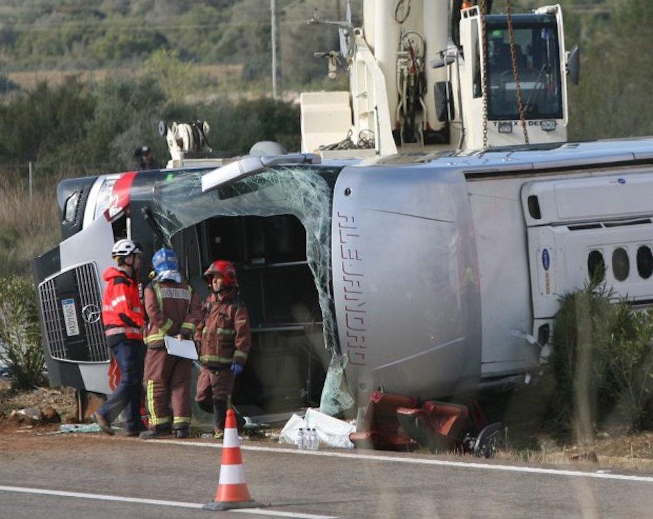 İspanya'da 2 günlük yas: Aralarında Türkiyelilerin de olduğu 14 öğrenci hayatını kaybetti