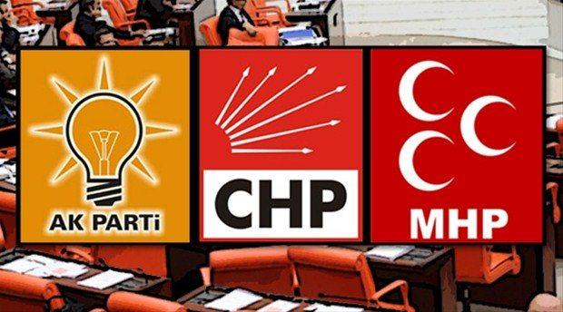 AKP, CHP ve MHP'den ortak deklarasyon