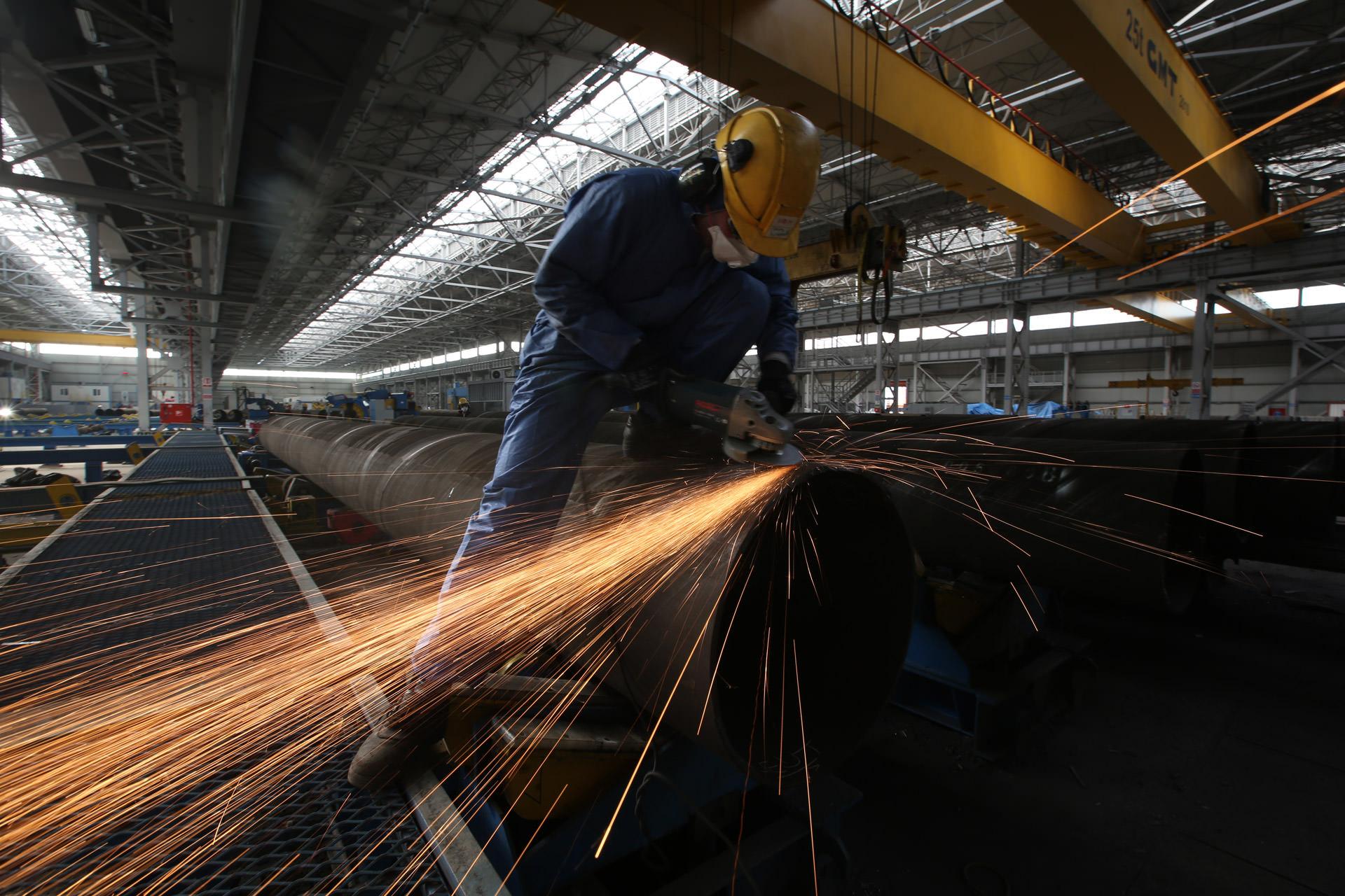 Borusan fabrikasında işçi ölümü