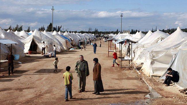 Suriyelilerin kaldığı çadırda yangın: Ölü ve yaralılar var